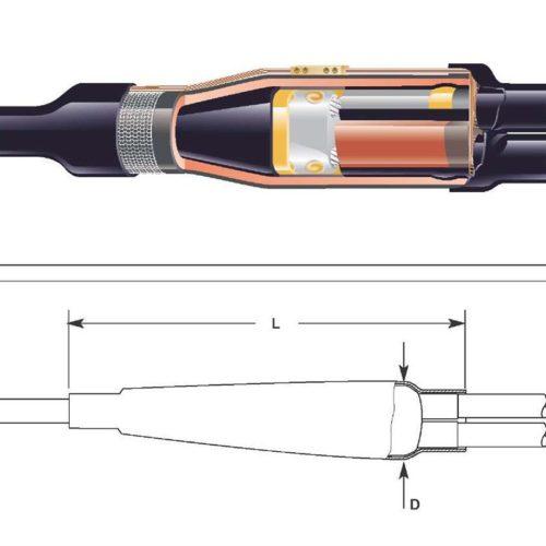 Муфта соединительная POLJ-01/4x1-6