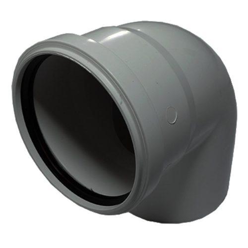 Отвод полипропиленовый 110х90