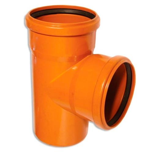 Тройник полипропиленовый 110х110х90 для наружной канализации