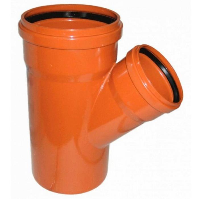 trojnik-polipropilenovyj-160h110h45-dlya-naruzhnoj-kanalizatsii