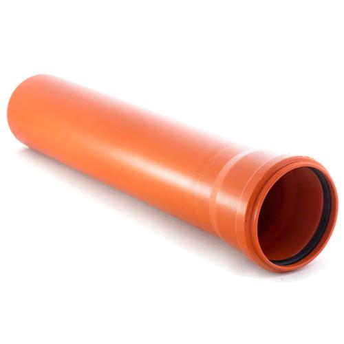 Труба полипропиленовая 110х1000 для наружной канализации