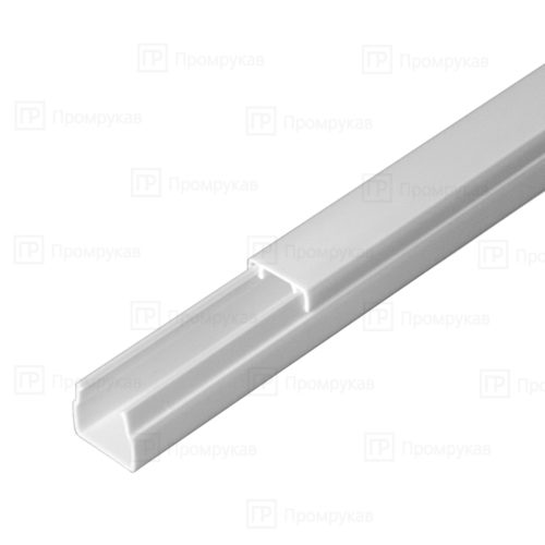 Кабель-канал белый двойной замок 12х12 упаковка 120 м. П/Э