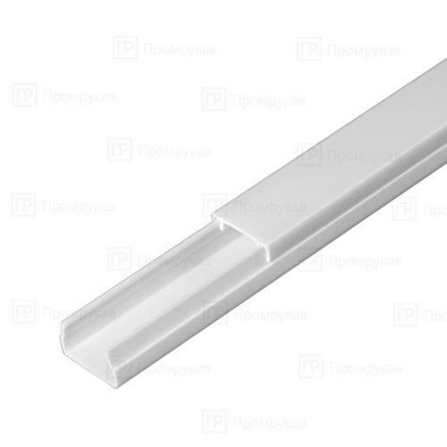 Кабель-канал белый двойной замок 15х10 упаковка 144 м. П/Э