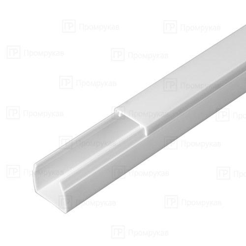 Кабель-канал белый двойной замок 16х16 упаковка 120 м. П/Э