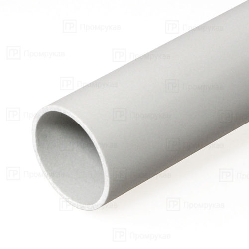 Труба жесткая ПВХ 3-х метровая легкая d50 упаковка 30м.
