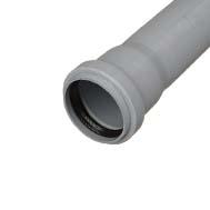 Трубы ПВХ канализационные внутренние